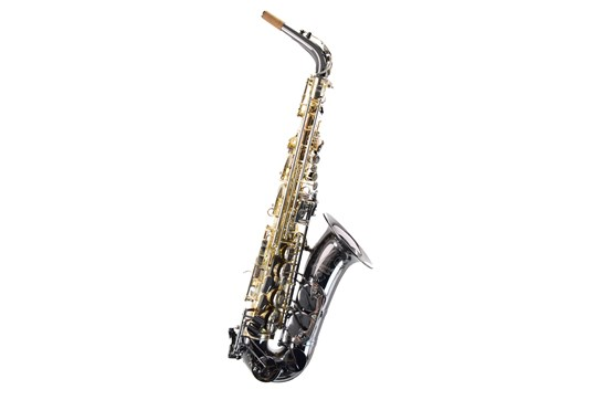 Used Cannonball Gerald Albright Signiture Series Alto Saxophone (Black Nickel)
