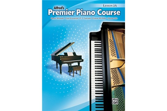 Premier Piano Course, Lesson 2A without CD