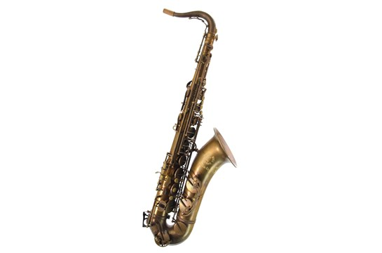Used Cannonball Big Bell Stone Series Tenor Saxophone, The Brute (Aged Brass)