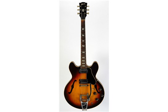 Gibson ES-335 TD with Bigsby w/ Original Lifton Hardcase 1968 Sunburst - Used
