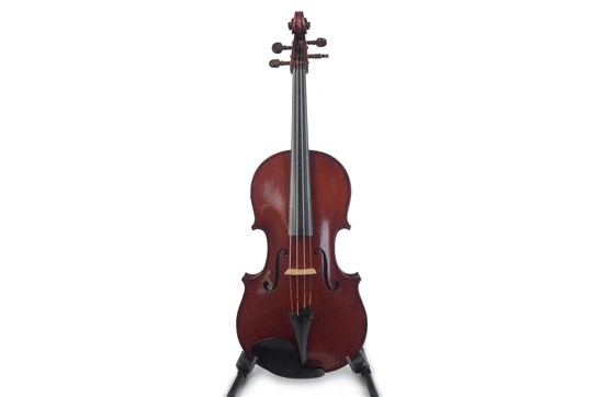 Viola, 1955  Labeled, Haim Rapoport fecit, Tel-Aviv Anno 1955  - 16 3/8