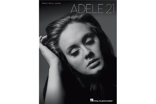 Adele - 21 for Piano/Vocal/Guitar