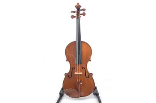 Violin, Late 20th Century  Labeled, Giacomo e Leandro Bisiach, Fecero in Milano l'A 1970