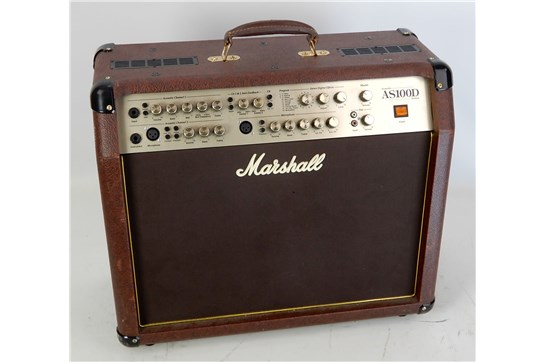 Marshall AS100D 100-Watt Acoustic Combo Amp Brown - Used