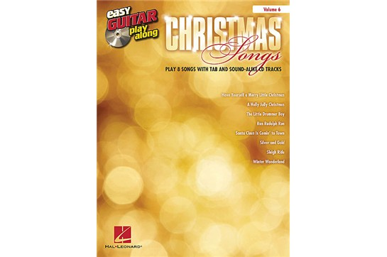 Christmas Songs - Easy Guitar Play-Along Volume 6