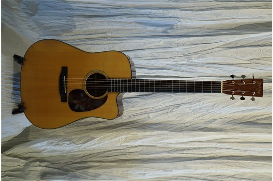 Used Martin DC-18E Acoustic Electric Guitar