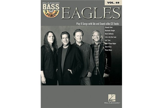 Eagles Bass Play-Along Volume 49