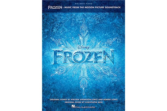 Frozen Soundtrack for Big Note Piano