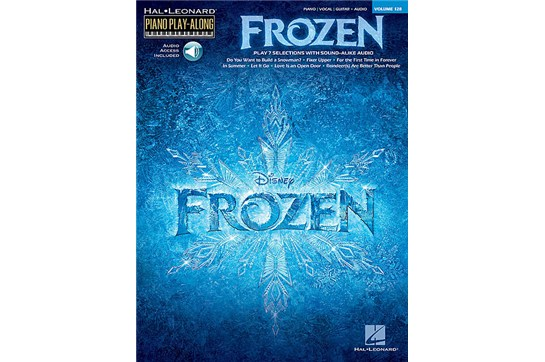 Frozen Soundtrack Piano Play-Along Volume 126