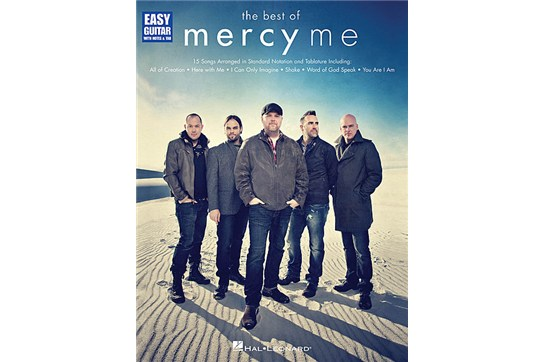 The Best of MercyMe (Easy Guitar TAB)