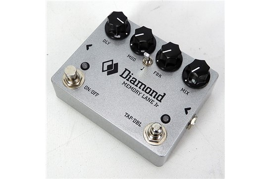 Diamond Pedals Memory Lane Jr. - Delay Effects Pedal - Silver Sparkle - Used