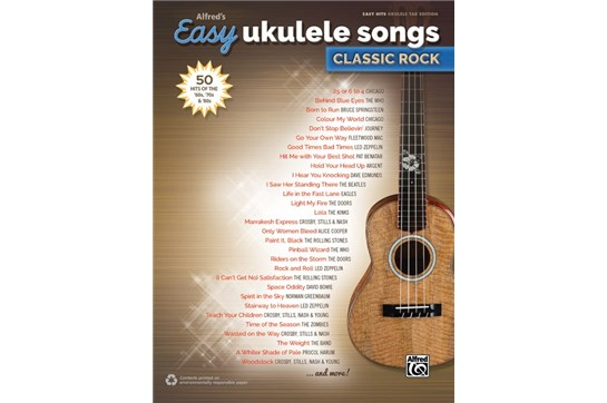 Easy Ukulele Songs Classic Rock