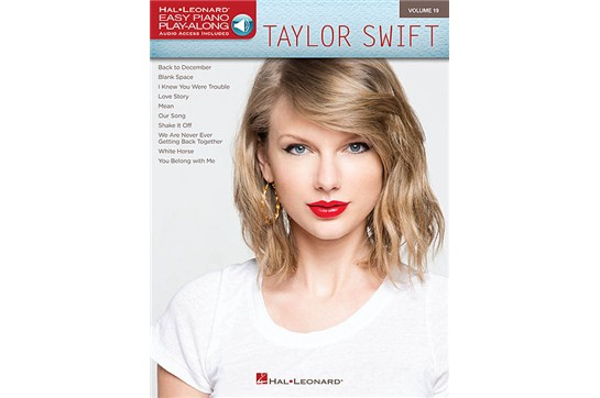 Taylor Swift - Easy Piano Play-Along Volume 19