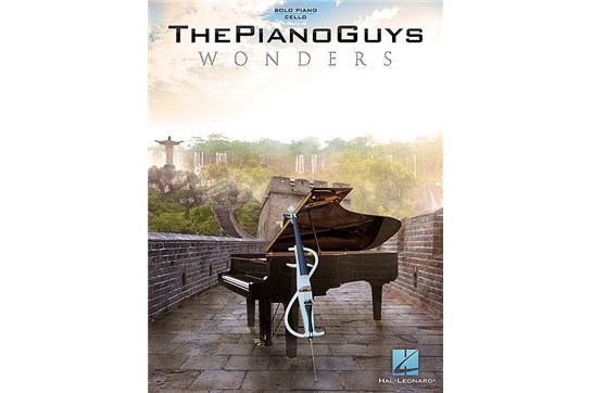 The Piano Guys - Wonders - For Cello / Piano / Keyboard Sheet Music Songbook