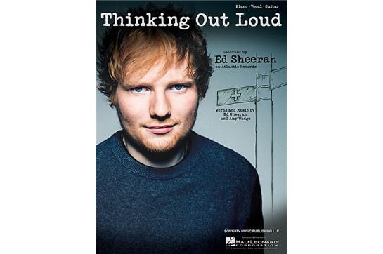 Thinking Out Loud - Ed Sheeran Piano / Vocal Sheet Music
