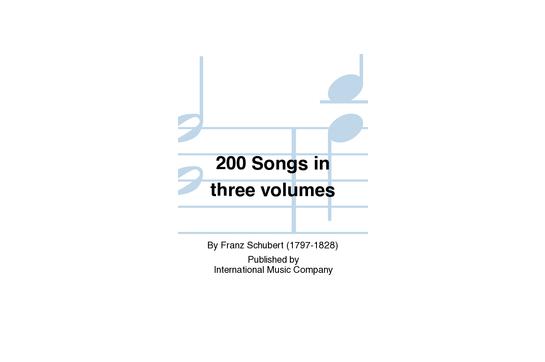 200 Songs in three volumes Vol 3