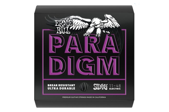 Ernie Ball 2020 Paradigm Power Slinky Electric Guitar Strings, 11-48