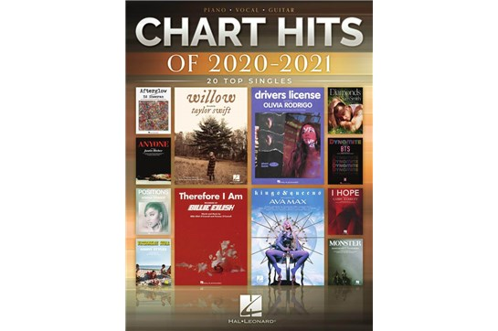 Chart Hits of 2020-2021: Top 20 Singles - PVG