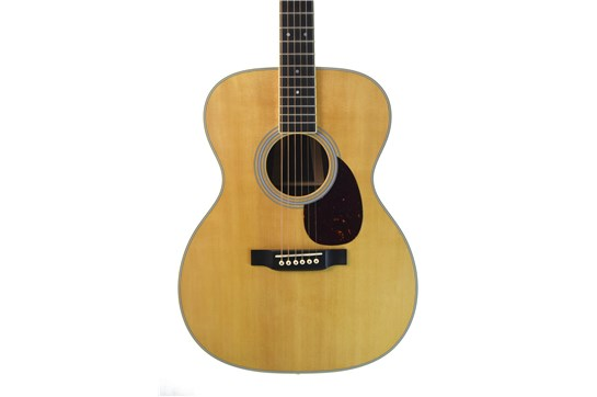 Martin OM-35E Acoustic Electric Guitar w/Case