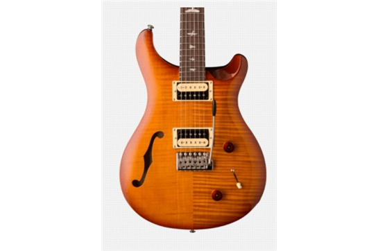 PRS SE Custom 22 Semi-Hollow with Trem (Vintage Sunburst)