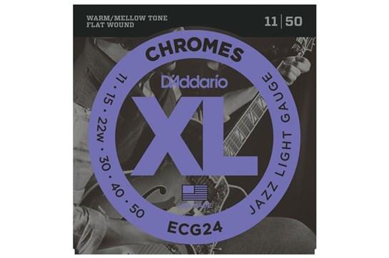 D'Addario ECG24 Jazz Light Electric Strings