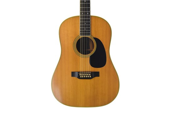1969 Martin D-12-35 Brazilian Rosewood 12-string with case