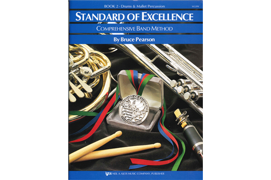 Standard of Excellence Drums & Mallet Percussion Lesson Book 2