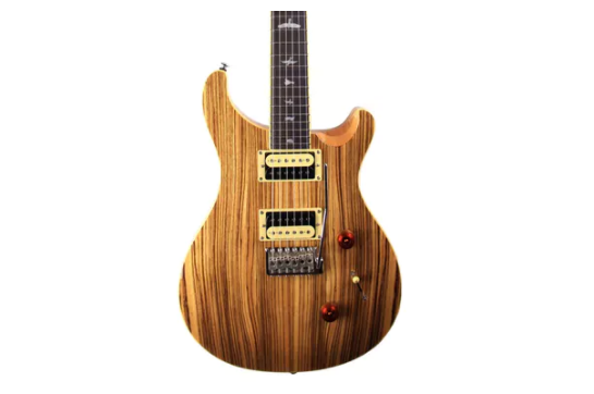 PRS SE Custom 24 Exotic Top (Zebrawood)
