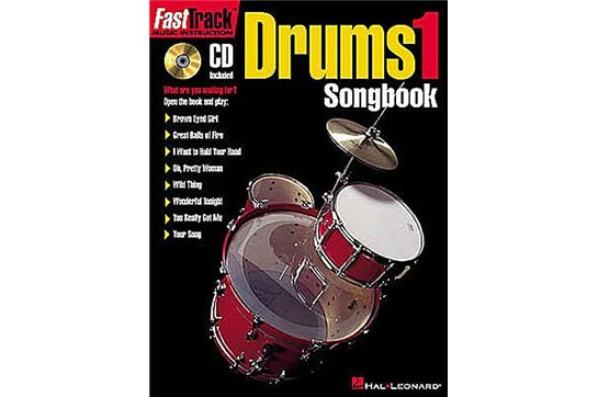 FastTrack Drum Songbook 1 - Level 1