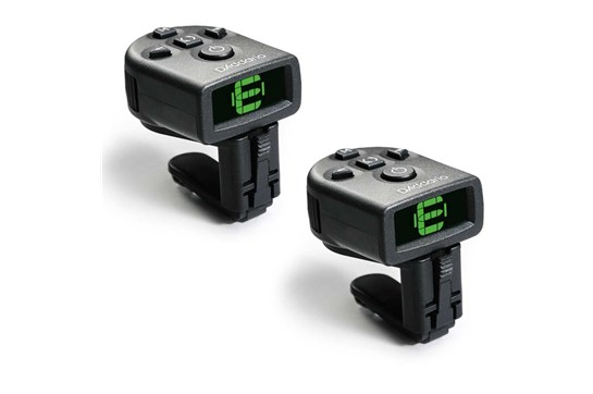 Planet Waves PW-CT-12 NS Micro Headstock Guitar Tuner (2 Pack)