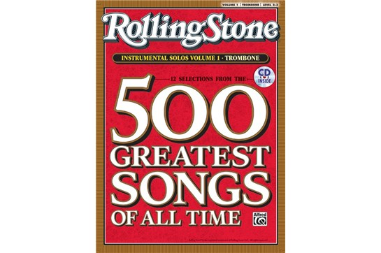 Selections from Rolling Stone Magazine's 500 Greatest Songs of All Time - Trombone
