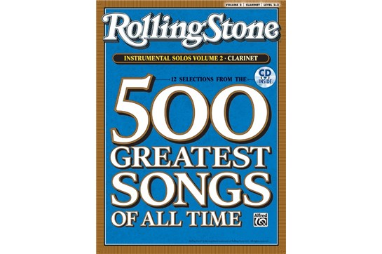 Selections from Rolling Stone Magazine's 500 Greatest Songs of All Time - Clarinet