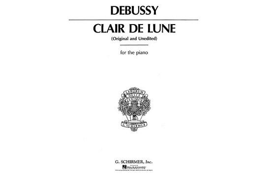 Claire De Lune - Piano Solo (7111A22)