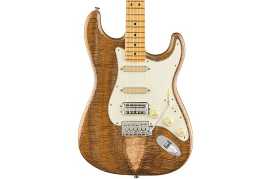 Fender American Original 50s Koa Top Stratocaster Electric Guitar -  Maple Neck (Natural)