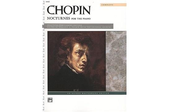 Nocturnes, Chopin - Piano Solo (7111A16)
