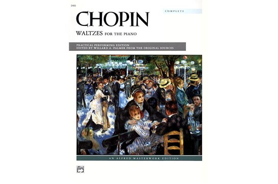 Chopin, Waltzes for the Piano - Piano Solo (7111S02, A15 & B15)