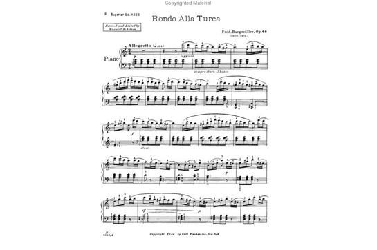 Rondo Alla Turca, Op. 68