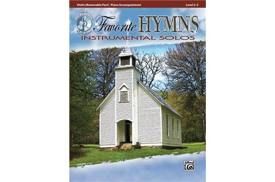 Favorite Hymns Instrumental Solos - Violin