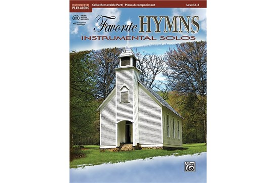Favorite Hymns Instrumental Solos - Cello