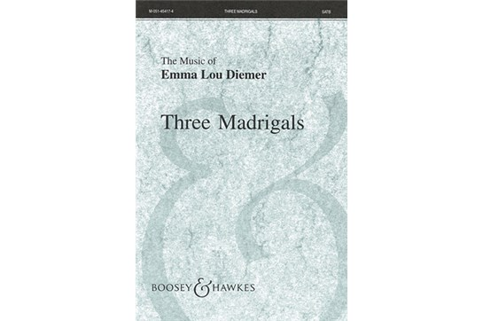 Three Madrigals - SATB