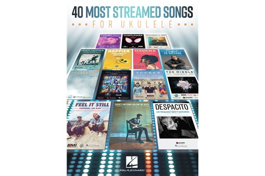 40 Most Streamed Songs for Ukulele