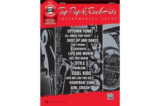 Top Pop & Rock Hits Instrumental Solos (Clarinet)