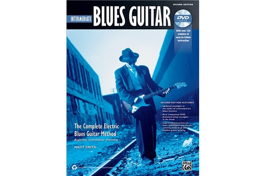 The Complete Blues Guitar Method: Intermediate Blues Guitar (Second Edition) w/DVD
