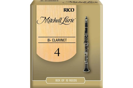 Mitchell Lurie Clarinet Reeds Strength 4 (Box of 10)