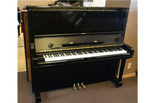 Used Yamaha U3AR Upright Piano - Polished Ebony