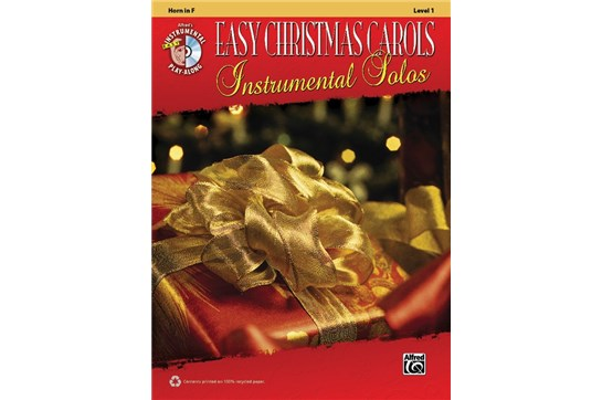 Easy Christmas Carols Instrumental Solos (Horn)