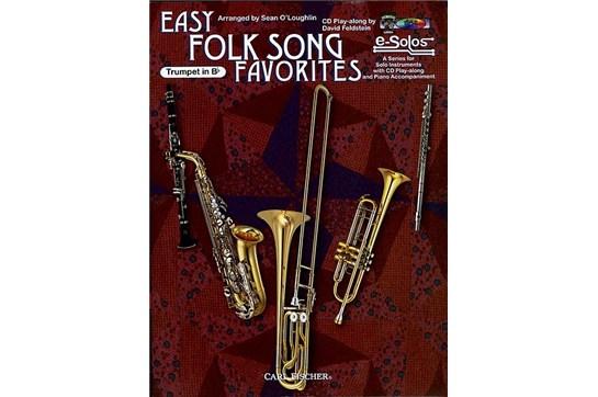 Easy Folk Song Favorites (Trumpet)