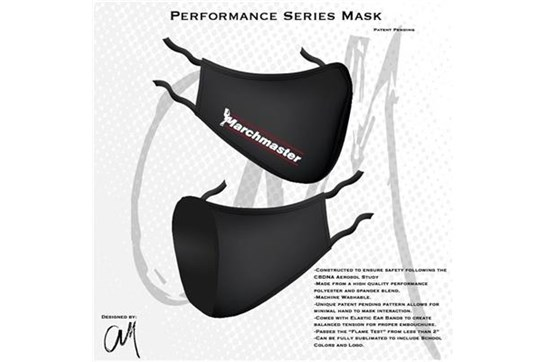 Marchmaster Youth Performance Mask - Black