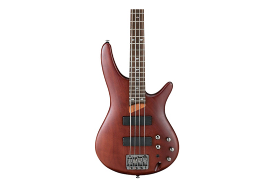 Ibanez SR500 Soundgear 4-String Electric Bass Guitar (Brown Mahogany Rosewood Fretboard)