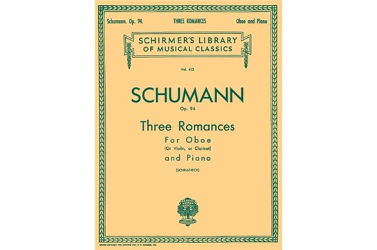 Three Romances, Op. 94, Schumann